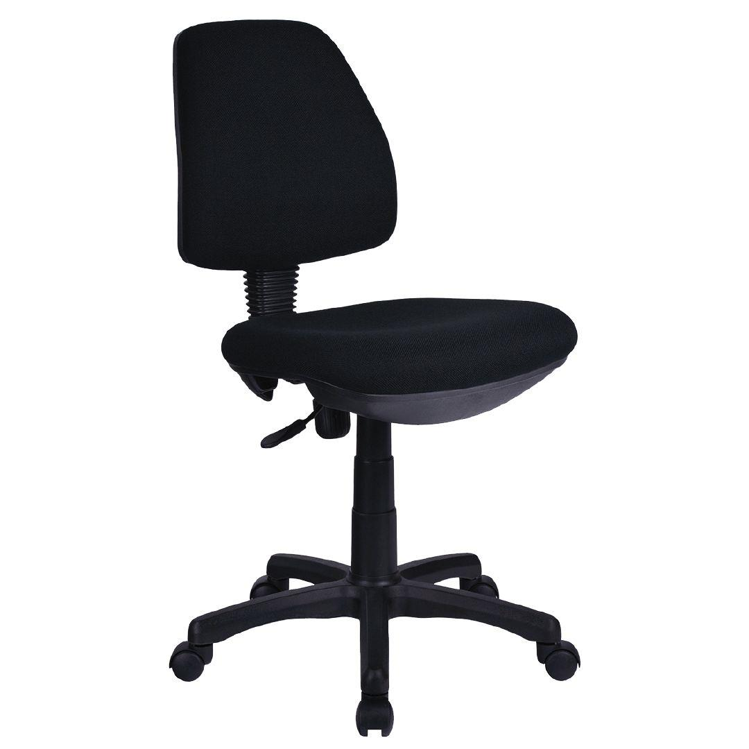 ergonomic chair levers round corner lounge workspace 1 lever task black warehouse stationery nz