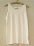 Onderhemd, singlet, armloos, van Merz B Schwanen, model 736