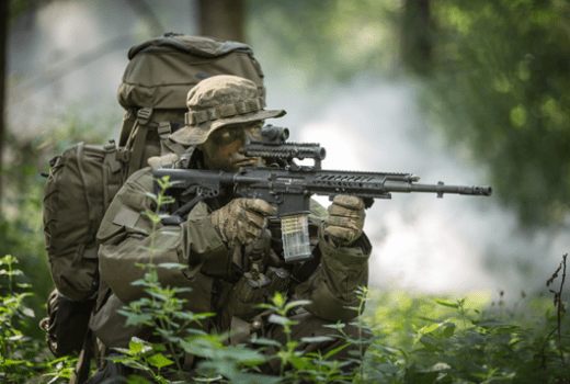 RS556 Rheinmetall and Steyr Mannliche Assault Rifle