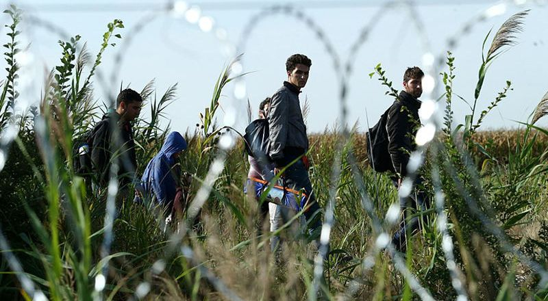 Refugee Crisis - Migrants in Hungary, by Gemes Sandor, SzomSzed 2015