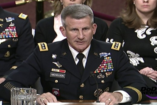 US Army General John Nicholson 2017