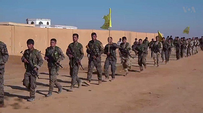 Syrian Democratic Forces, Northern Raqqa Offensive (Nov 2016-2017), 12 Dec 2016, Voice of America
