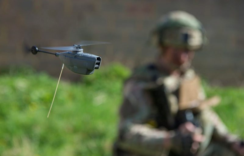 AWE 17: Royal Marines Test New Black Hornet Micro-Drones