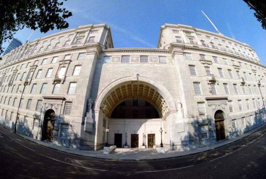 MI5 Thames House, London, no date (Crown Copyright, OGL)