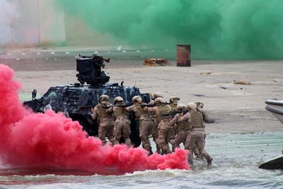 Multinational Troops Wrap Up Eagle Resolve 2017 in Kuwait