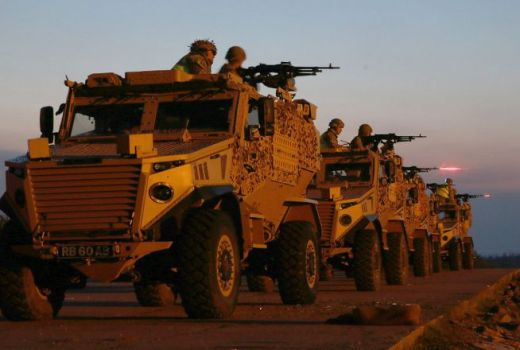 British Army The Yorkshire Regiment 2nd Bn (2 YORKS), live firing training for Op TORAL deployment, May 2017 (Crown Copyright, 2017)