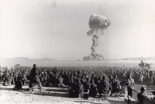 US Military, Exercise Desert Rock I, the first US nuclear field exercise, conducted during the Korean War, November 1, 1951