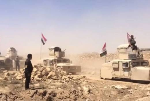 Iraqi Security Forces, Battle of Tal Afar against Islamic State (VOA video)