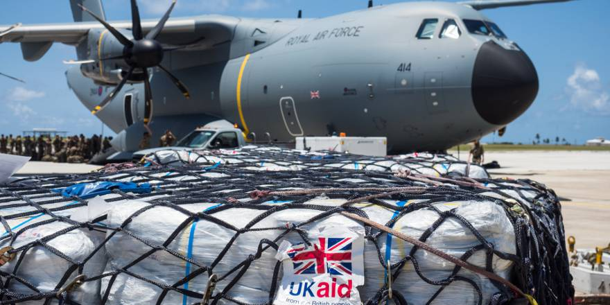 RAF 70 Squadron Airbus A400M Atlas in Barbados, Operation RUMAN, Hurricane Irma (Crown Copyright, 2017) [880]