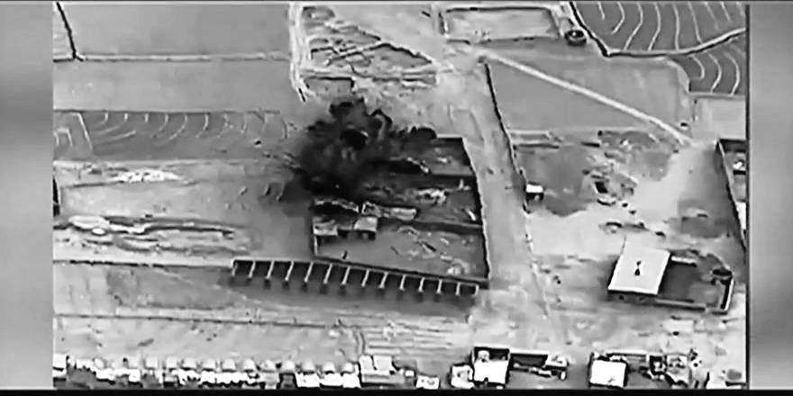 US Military, Resolute Support, Afghanistan, satellite imagery of strikes against Taliban drug labs, 20 November 2017 (US Army)[880]