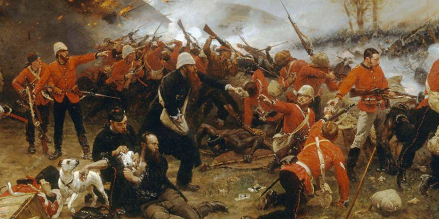 British Army, Corps of Royal Engineers, 24th Reg Foot, Alphonse de Neuville, The Defence of Rorkes Drift 1879
