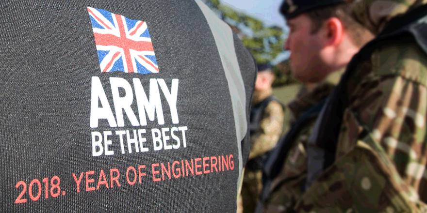 British Army Corps of Royal Engineers, Year of Engineering 2018 (Crown Copyright, 2018)