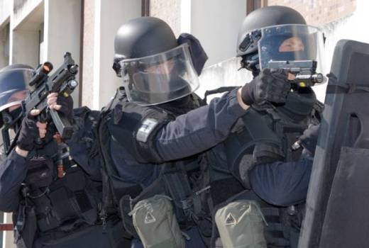 French Groupe d'intervention de la Gendarmerie nationale GIGN (PI2G) team (Domenjod, 2015, CC4)