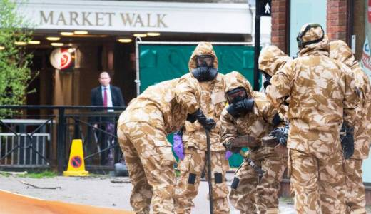 British Army, Corps of Royal Engineers, 22 Engineer Regiment, RAF Regiment 20 Wing, Operation MORLOP, Salisbury, Skripal Poisoning (Crown, 2018)