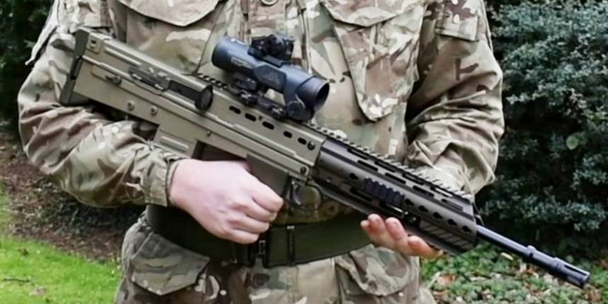 Upgrading the British Army's SA80A2 Assault Rifle – Warfare Today
