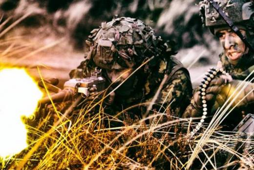 Lithuania, Mechanised Infantry Brigade Iron Wolf on Exercise Joint Warrior 18 (Lithuanian Armed Forces, 2018)