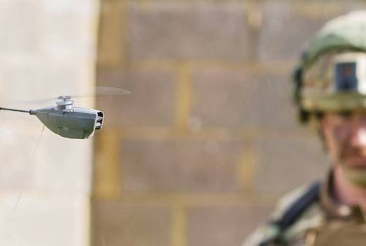 Disruptive technology for defence demonstration at the Army Warfighting Experiment (AWE) 17