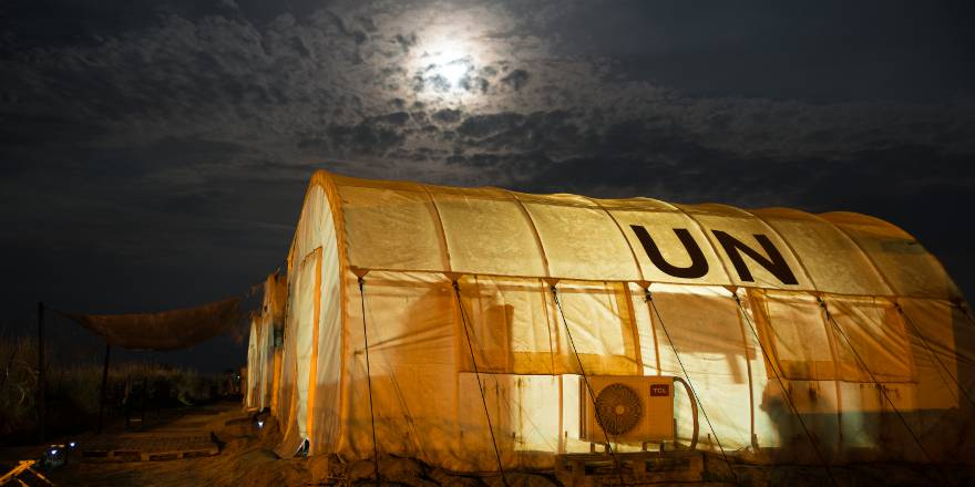 British Army Corps of Royal Engineers Operation TRENTON South Sudan (UNMISS) (Crown Copyright, 2018)