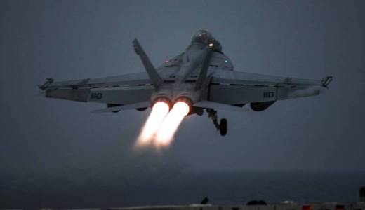 US Navy USS Harry S Truman Carrier Strike Group brings F-18s to Operation Inherent Resolve against ISIS (US Navy, 2018)
