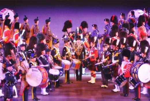 British Army, Royal Edinburgh Military Tattoo, 2010 (xlibber, CC2) [880]