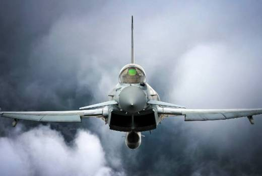 RAF Typhoon FGR4, 29 (R) Squadron, RAF Coningsby (Crown Copyright, 2018) [880]