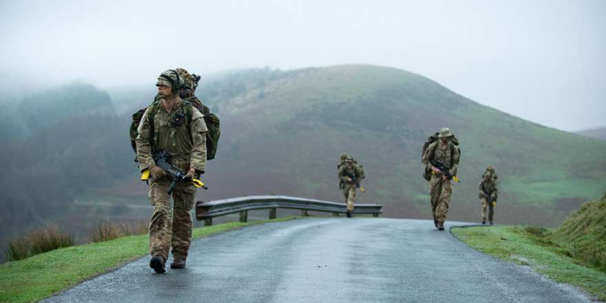 British Army Exercise Cambrian Patrol 2018 (Crown Copyright, 2018)