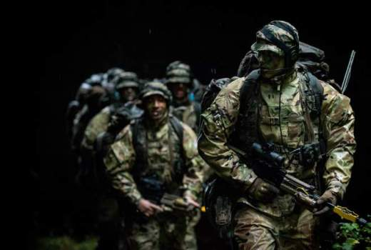 British Army Reserve Soldiers on Exercise Cambrian Patrol 2018 (Crown Copyright) [880]