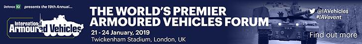International Armoured Vehicles, London, 21-24 January 2019