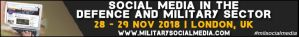 Social Media in Defence and Military, London, 28-29 November 2018