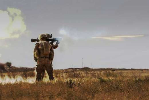 US Marine Corps in Deir ez-Zor province, Syria, on Operation Inherent Resolve, Operation Roundup, against ISIS (US Army, DVIDS, 2018)