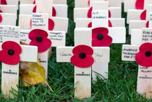 British Army Westminster Abbey Field of Remembrance, Prince Harry (crown Copyright, 2018) [880]