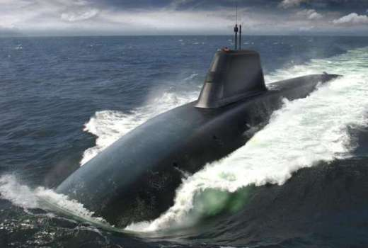 Royal Navy Dreadnought Nuclear Submarine (Crown Copyright, 2018)