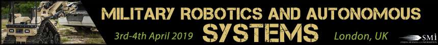 Military Robotics and Autonomous Systems 2019