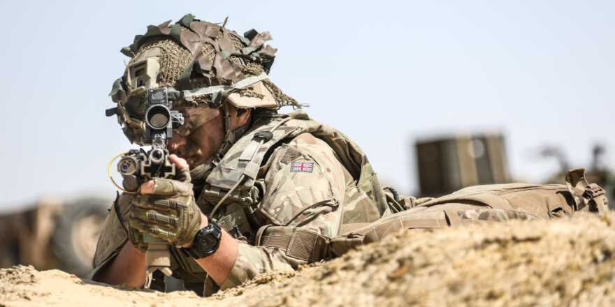 British Army Royal Anglian Regiment 2nd Battalion, Exercise Ahmose, Egypt (Crown Copyright, 2019) [880]