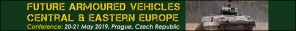 Future Armoured Vehicles Central and Eastern Europe Prague 20-21 May 2019