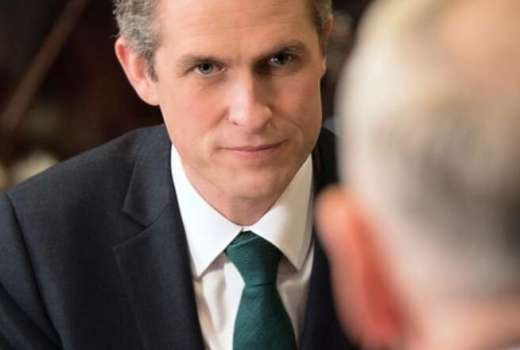 MOD Secretary of State for Defence Gavin Williamson (US DoD, August 2018) [880crop]