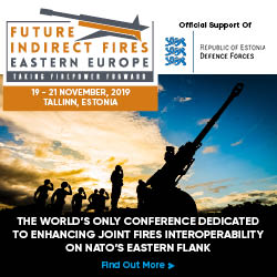 Future Indirect Fires Eastern Europe Conference, Tallinn, 19-21 November