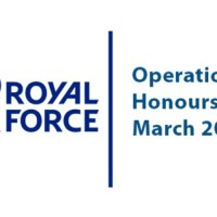 Armed Forces Operational Honours List March 2020