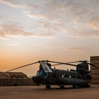 RAF Chinooks Conduct Intensive Operations In Mali