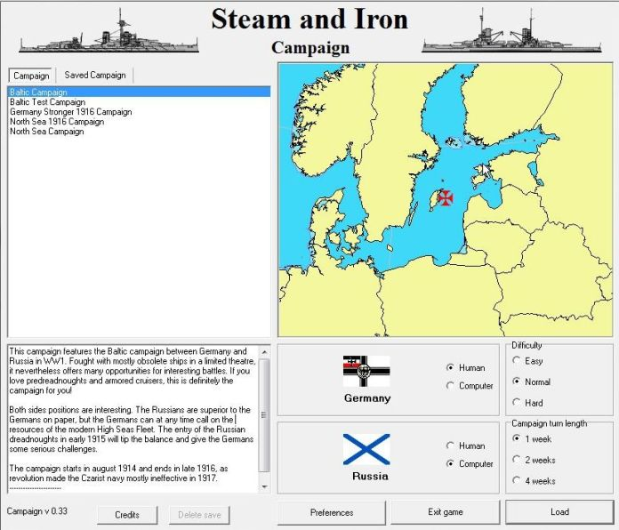 Steam And Iron - Campaign expansion