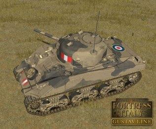 Combat Mission Fortress Italy - Gustav Line - new-british-sherman-1