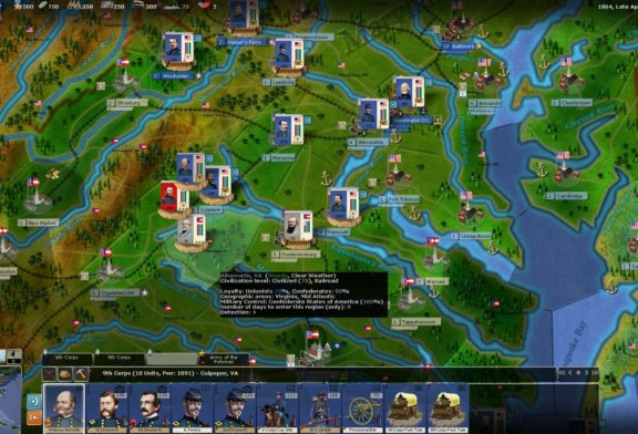 Civil War II : screenshots pour The Bloody Road