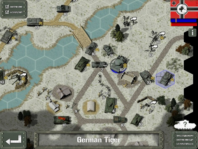 Tank Battle - East Front 1943 - iPad