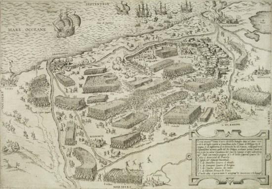 planche-bataille-gravelines-1558-lafreri