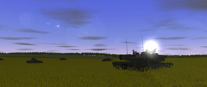 combat-mission-black-sea-m1 abrams morning