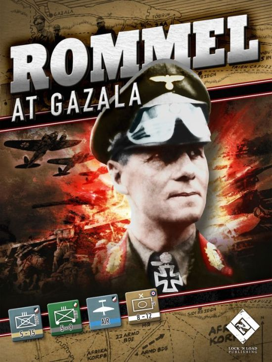 Rommel at Gazala - Lock n Load Publishing