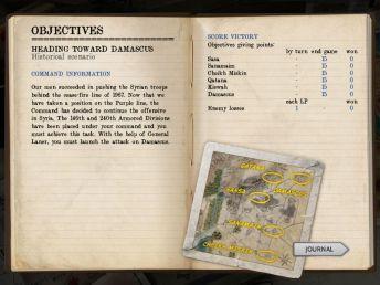 wars-battles-october-war-Journal - Objectives