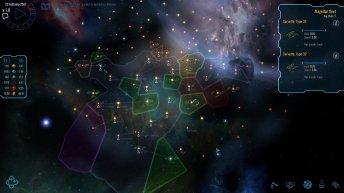 Vue d'une galaxie