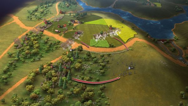 Early In Game Footage Video American Civil War Mod - Year of
