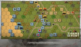 tigers-hunt-koursk-Fighting-around-Ponyri-School
